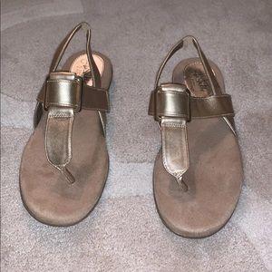 Women's gold sandal!